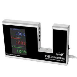 LS183 miernik transmisji widma Tester do filmu szklane okno odcień pomiaru IR 950nm UV 365nm VL 380 760nm 3 w 1 funkcja|Spektrometry|   -