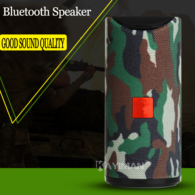 New Waterproof Bluetooth <font><b>Speaker</b></font> Outdoor Bicycle Portable Subwoofer Bass Wireless <font><b>Speakers</b></font> Mini Column Box Loudspeaker FM image