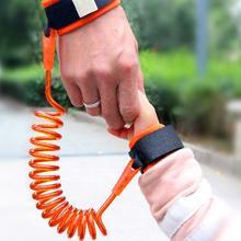 Самое популярное детское безопасное обучение ходьбе анти-потерянный ремень на запястье поводок для детей ручной ремень веревка длина