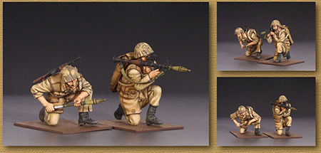 1/35  Modern Infantry Action Include (2 Figures)  Resin Figure Model Kits Miniature Gk Unassembly Unpainted
