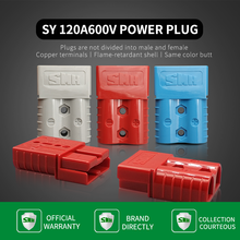 SMH120a 600V RV Battery Charging Connector Inverter Charging Head Car Battery Quickly Connect And Disconnect The Power Cord Plug