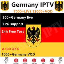 IPTV allemagne 7000 + TV IP en direct France grèce nederland italie royaume-uni smart IPTV XXX m3u Europe turquie pour android tv box smart tv(China)
