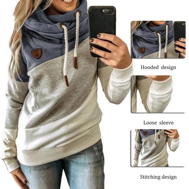 Leopard Hooded Sweatshirt Drawstring pullovers 5