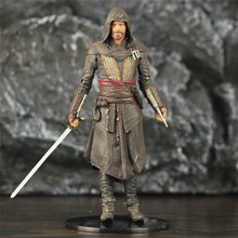 Assassin Movie Aguilar 7 Action Figure From Mcfarlane Toy Movie Color Tops Series Statue Doll Model Creed Collectible single sale 41 cm iron man series movie thanos resin action figure kids adults collectible toys garage kit toy movie character
