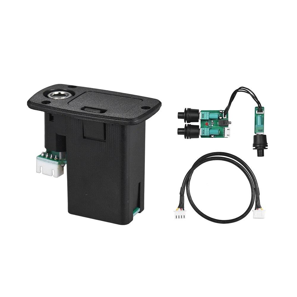 Haute qualité 2-bande EQ ukulélé Ukelele Uke Piezo pick-up système de préamplification avec contrôle du Volume des basses aigus