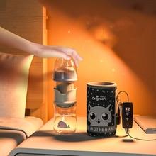 Baby milk Bottle Warmer Thermostat Bag Car Portable USB Heating Intelligent Warm Milk Tool Insulation Cover Baby Bottle Warmer