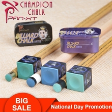High Quality PXT Pan XT Tailor-made Chalk Powder Pool Snooker 2 Pieces Per Box Professional Billiard Accessories
