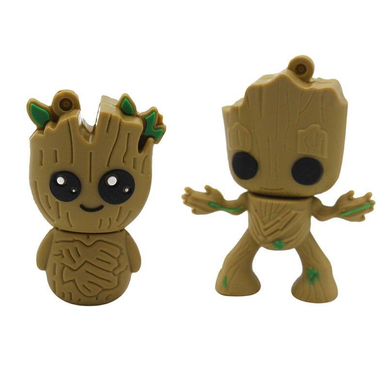 TEXT ME Cartoon Tree Demon, Tree Man Usb Flash Drive Usb 2.0 4GB 8GB 16GB 32GB 64GB Pendrive Gift