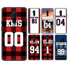 Case Coque Voor Oneplus 7 7 Pro 7T Pro 6 6T 7T Pro 5G 6T 7T Fundas Capa Exo Nummer Bos Items Black Soft Case(China)