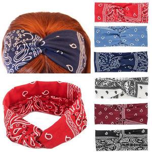 Headband Hair-Accessories Wide-Turban Women Cotton Makeup Twist-Knitted Elastic Girls