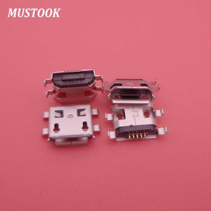 3 pièces/lot OEM Mini Micro USB prise cc connecteur prise Port prise de charge pour Prestigio Multipad 2 Ultra Duo 8.0 tablette