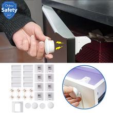 Magnetyczna blokada dziecięca szafka bezpieczeństwa dla niemowląt drzwi szufladowe blokada ochrona dzieci niewidoczna blokada bezpieczeństwo dzieci 4 + 1 8 + 2 z 1 kołyską tanie tanio Z tworzywa sztucznego Blokada szuflady 7-9Y 13-18 M 2-3Y 19-24 M 13-14Y 14Y 4-6Y 10-12 M 10-12Y Child Safety Magnetic Lock