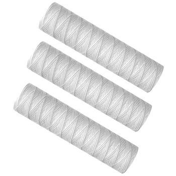 3 sztuk filtr do wody 10 Cal filtr owijany z 5 μm PP filtr bawełniany Sedmient filtr tanie i dobre opinie MISS ROSE CN (pochodzenie) NONE 5 Micrometre Polypropylene 6 Months