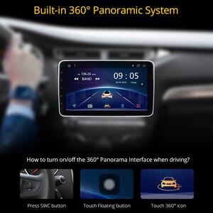 Image 3 - Ownice K5 dönebilen 1 din 2din 10.1 araba radyo evrensel DVD OYNATICI GPS navi DSP 360 Panorama SPDIF amplifikatörler optik yörünge