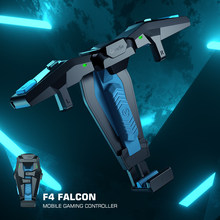 GameSir F4 Falcon Mobile Gaming Controller Pubg Gamepad Grip Für Android / iOS iPhone, faltbare Flügel Joystick Für Fortnite Kabeljau