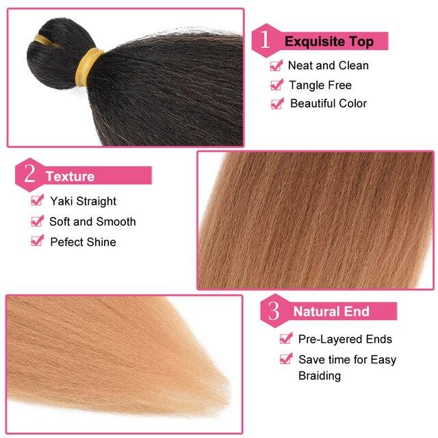 Фото изысканный легко плетение волос 26 дюймов длинные джамбо косички