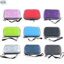 Yuxi eva saco de armazenamento caso duro bolsa protetora levar capa protetor para gameboy gba gbc para 3ds ndsi ndsl console
