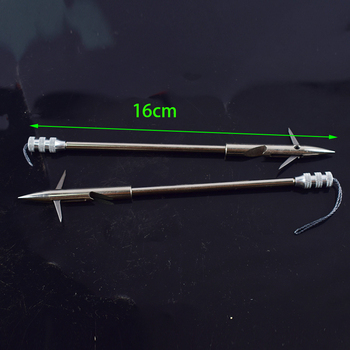 3/6/12pcs Stainless Steel Broadheads Arrowhead Slingshot Catapult Dart Hunting Shooting Fishing Slingshot fishing arrows fishing 2