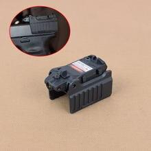 Universal glock vermelho mira laser apenas para airsoft kwa ksc glock 17 19 22 23 25 27 28 31 32 33 34 37 38 caça pistola acessórios