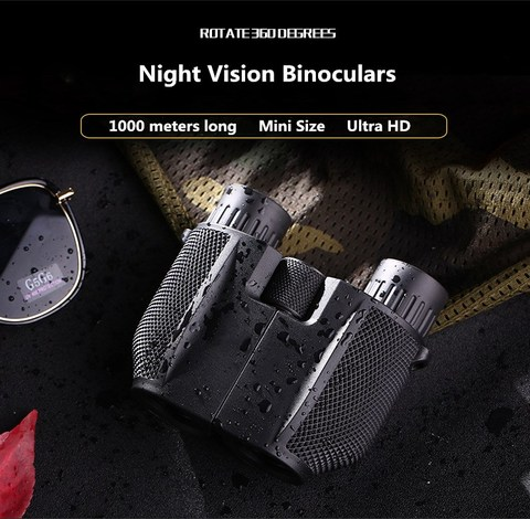 10x25 binoculos caca viagem de acampamento com portatil visao noturna alta potencia espelho a prova