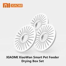 Xiaomi xiaowan caixa de secagem de alimentador de animais de estimação inteligente conjunto conectado a mijia app lembrete inteligente expira para xiaomi xiaowan alimentador de animais de estimação