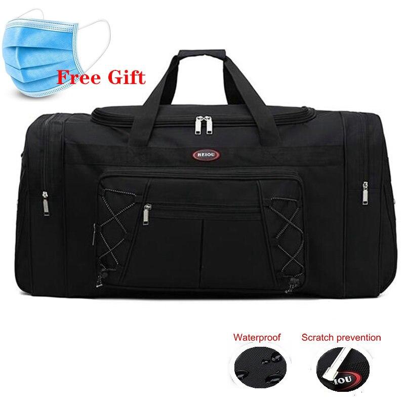 65LTraining Gym Bags Men Large Capacity Sport Bag For Women Fitness Waterproof Travel Duffel Bag Outdoor Carry On Garment Bag