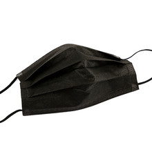 5/30/50/100/200pcs Disposable Masks Non-woven Face Masks 3 layer Ply Filter Anti Dust Breathable Adult Mouth Mask Black IN STOCK
