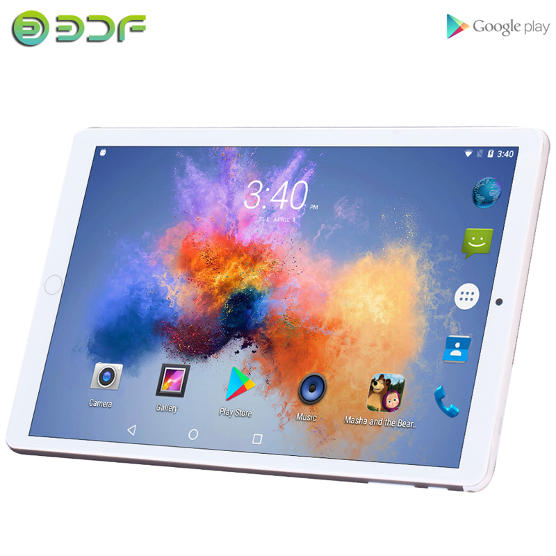 2020 New Models 10.1 Inch Tablets Android 7.0 Quad Core 3G Phone Call 2GB+32GB Support GPS Wi-Fi Bluetooth Tablet PC+Keyboard