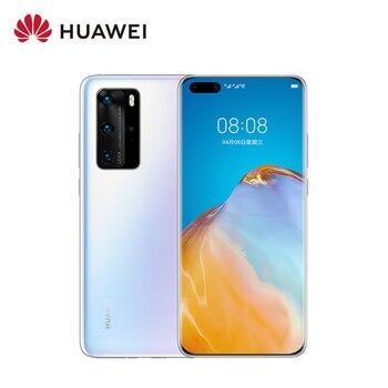 Перейти на Алиэкспресс и купить Мобильный телефон Huawei P40 Pro, мобильный телефон с OLED дисплеем 6,58 дюйма, Восьмиядерный процессор, 4200 мАч, суперзарядка, сканер отпечатка пальца,...