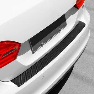 Image 5 - Universal Car Trunk Rear Guard Plate Sticker for Ford Focus Fiesta Kuga Citroen C5 Skoda Octavia Rapid Superb Accessories