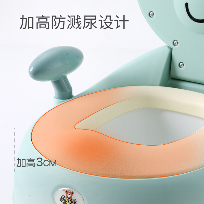 Extra-large No. CHILDREN'S Toilet Pedestal Pan Women's Men's Kids Potty Baby Infant CHILDREN'S Seat Toilet Urinal Stool Bucket