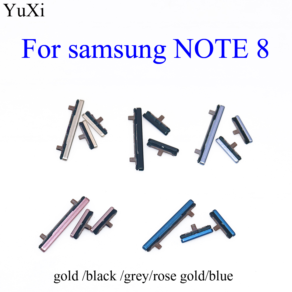 YuXi For Samsung Galaxy Note8 / Note 8 Power Button&Volume Button Slide Button