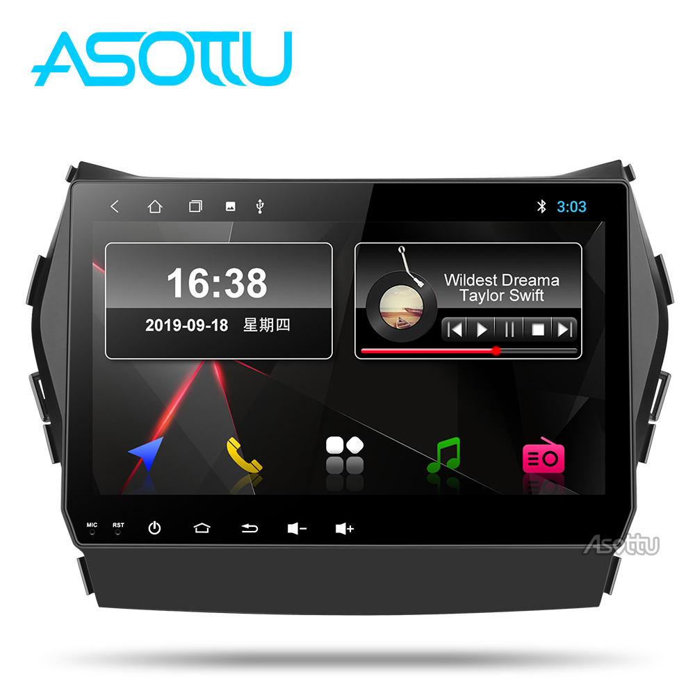 Asottu CIX459060 Android PX30 9.0 car dvd <font><b>gps</b></font> video radio player 1 din for <font><b>Hyundai</b></font> IX45 <font><b>Santa</b></font> <font><b>fe</b></font> 2013 car navigaton unit image