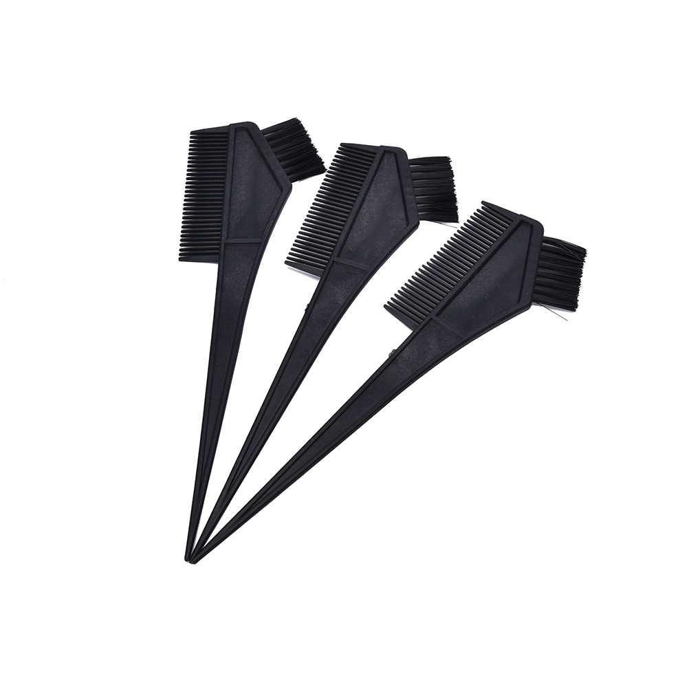 ホット 1 個染毛剤カラーリングブラシくし理髪ブラシプロプラスチックサロン漂白色合いパーマアプリケーションスタイリングツール