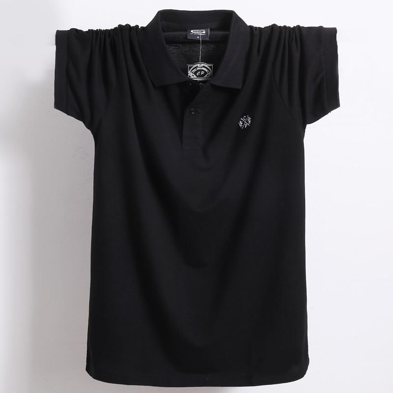 Summer Men Polo Shirt Brand Clothing Pure Cotton Men Business Casual Male Polo Shirt Short Sleeve Breathable Soft Polo Shirt 5XL 10