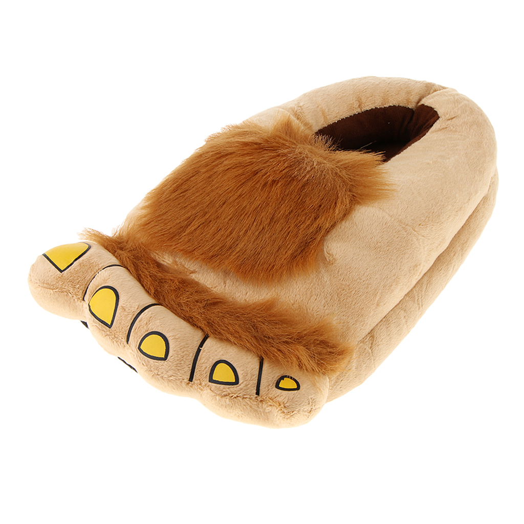 Furry Monster Slippers 3