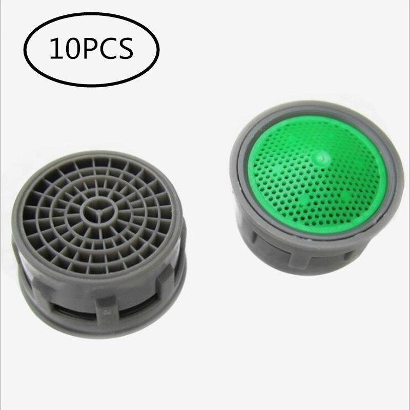 LIUYUE Bubbler Spout 10 Pcs Bathroom Faucets Water Saving Aerator Kitchen Faucet ABS Bubbler Spout Net Prevent The Splash