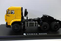 New Star Scale Models 1/43 Scale KAMA3 65225 KAMAZ TRACTOR Dieast for Collection Gift Yellow