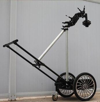 HONTOO движущийся съёмный автомобиль рикша тележки амортизирующий главный автомобиль фильм съемочная тележка