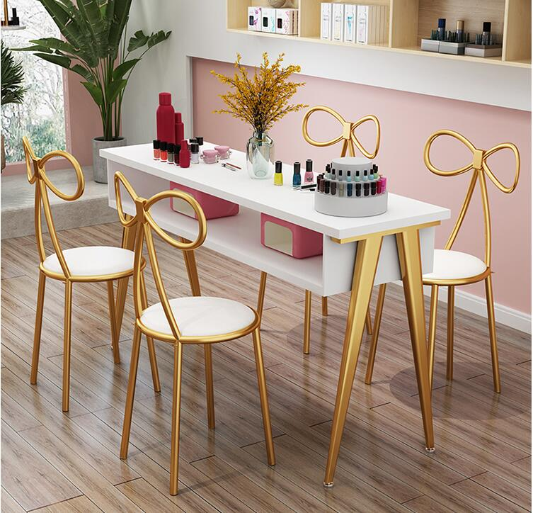 Manicure Table Economic Single Double Three Person Manicure Table Ins Manicure Table Net Red Manicure Table And Chair Set