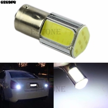 White 1156 G18 Ba15s 4 COB LED Turn Signal Rear Light Car Bulb Lamp 12V