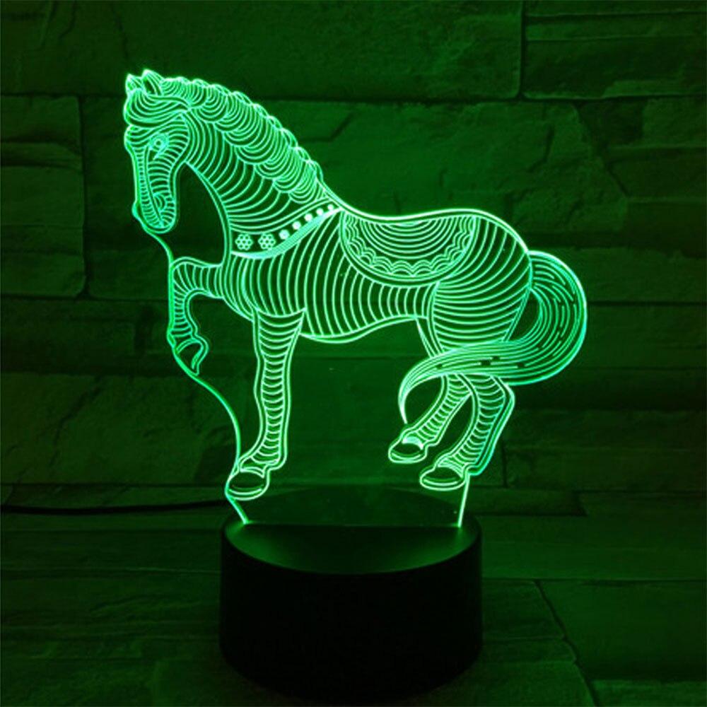 Modern Lamp Base 3D Ornament Gift Indoor Decoration Light Base DC 5V LED Home Lighting Fixture Lamp Holder Interior Design