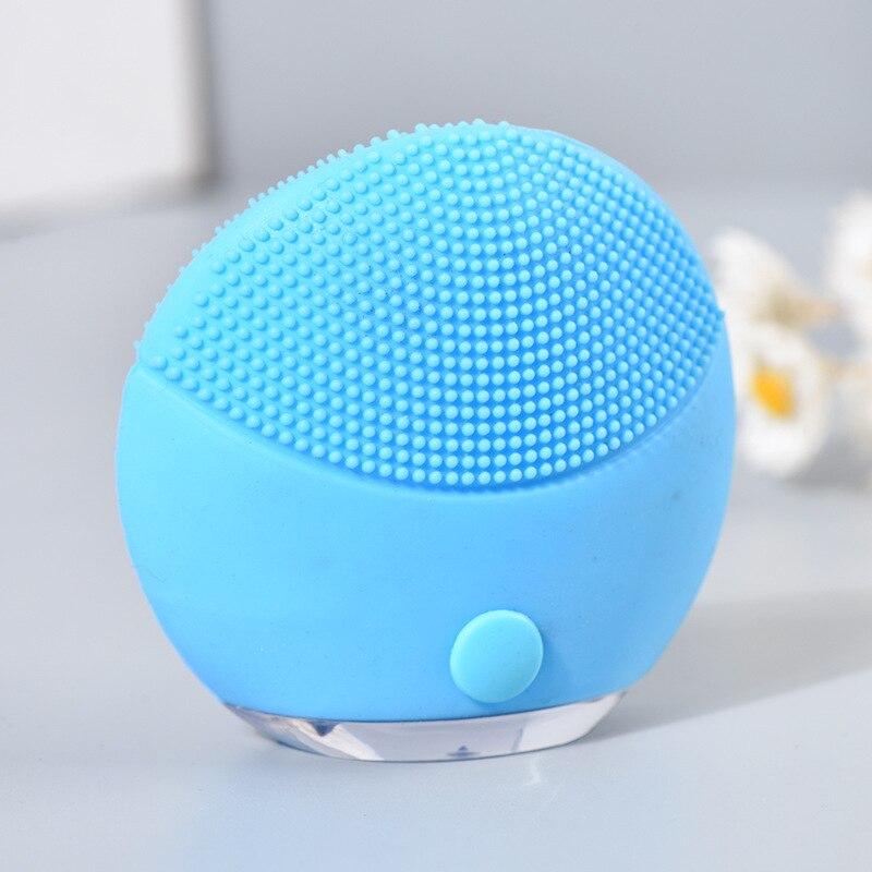 Купить щетка для очищения лица ультра звуковой вибрационный массажер