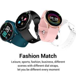 Image 2 - Cobrafly ساعة ذكية الرجال النساء 1.3 بوصة شاشة اللياقة البدنية تعقب رصد معدل ضربات القلب IP67 مقاوم للماء الفرقة ل شاومي سامسونج هواوي