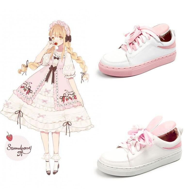 Lolita Bunny Ears Sneakers 2