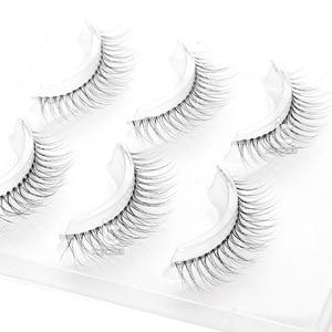 Image 4 - Icycheerer faux cils longs croisés, fins et doux, Look naturel, maquillage 3D, Extension