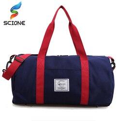أعلى جودة اللياقة البدنية الصالة الرياضية حقائب الرجال والنساء مقاوم للماء حقيبة يد رياضية أدوات تخييم للسفر متعددة الوظائف حقيبة