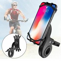 Uniwersalna rowerowa uchwyt na telefon rowerowy 360 obrotowa kierownica rowerowa silikonowa góra bezpieczna stabilna ochrona dla mobilnego telefonu komórkowego w Uchwyty i podstawki do telefonów komórkowych od Telefony komórkowe i telekomunikacja na