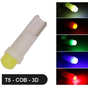 Image 5 - 20 Pcs T5 1 Led DC12V Keramik Dashboard Gauge Instrument Keramik Auto Auto Side Wedge Licht Lampe Rot/grün/Gelb/Blau/Weiß