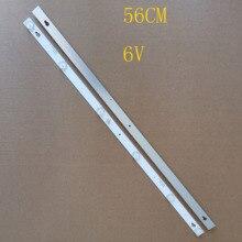 2 adet 56CM 6LED * 6V yeni LED şerit TV L32F3301B L32P1A 4C LB3206 HR03J HR01J 32D2900 32HR330M06A5 V5 32HR330M06A8 V1